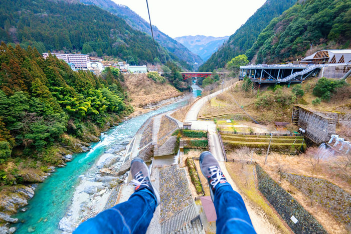 Try the canyon zip-slide!
